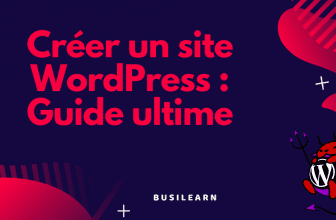 Wordpress guide ultime