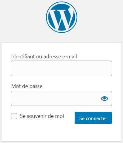 connexion admin