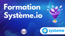 Formation Systeme.io Gratuite et Complète
